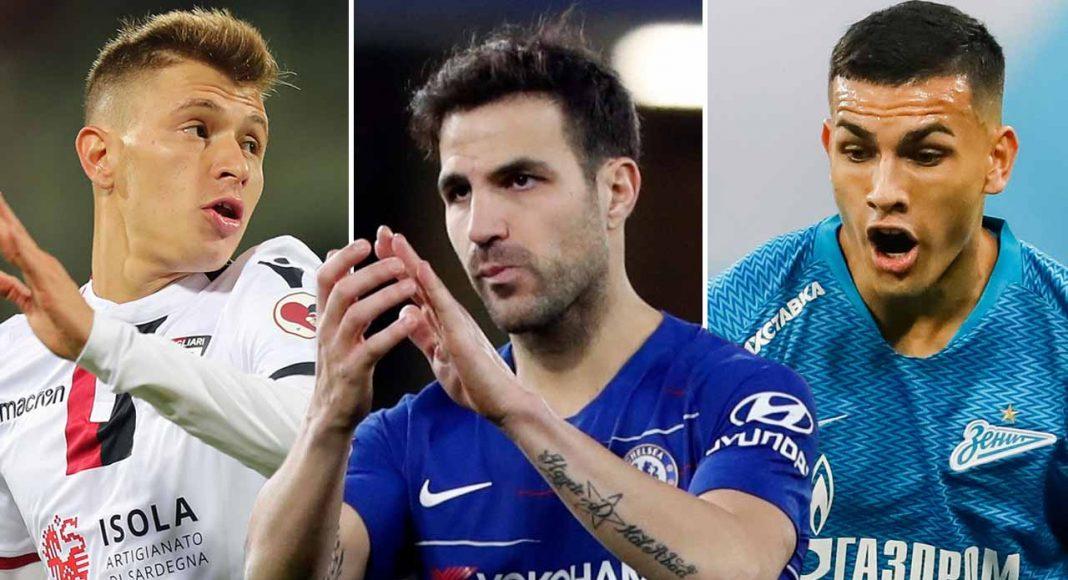 Chelsea Fokus Ke Paredes Gantikan Fabregas!