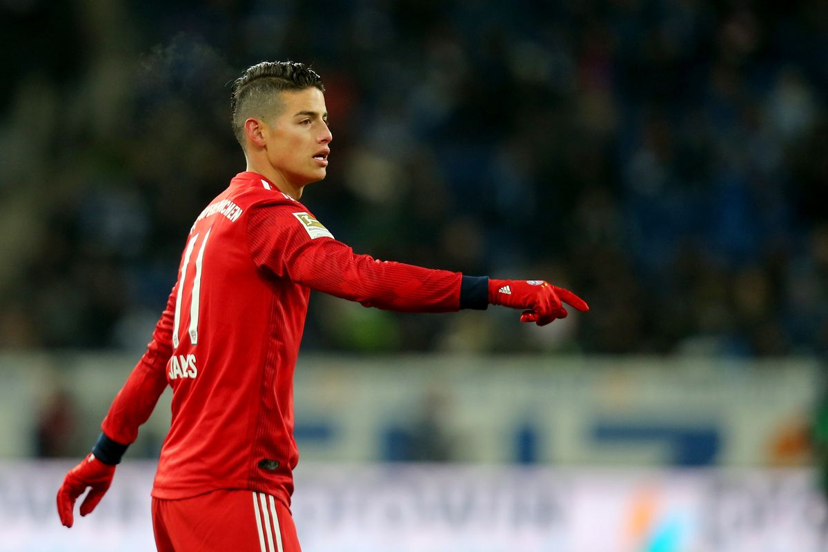 Arsenal Diminta Pertimbangkan Transfer James Rodriguez!