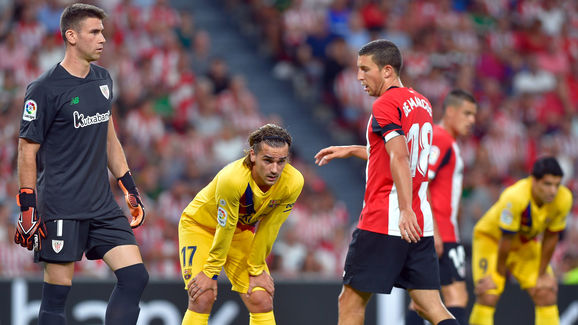 Hasil Pertandingan Athletic Bilbao Vs Barcelona Skor 1-0