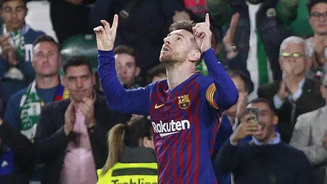 Tiga Gol Dari Messi Membawa Barcelona Semakin Tinggi