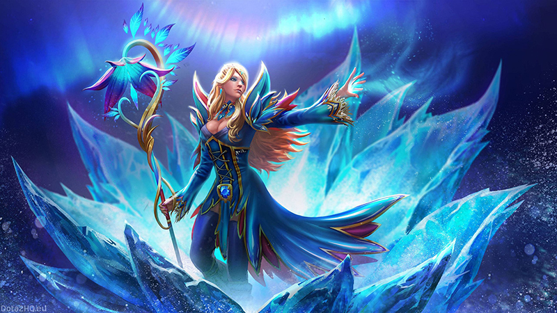 Review Hero Crystal Maiden Dalam Game Dota 2